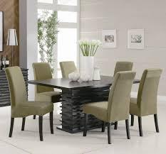 contemporary acrylic dining table gray