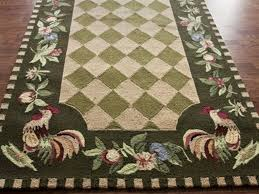 Rooster Area Rugs Kitchen Rooster Kitchen Rugs French Country Room Area Rugs Accent