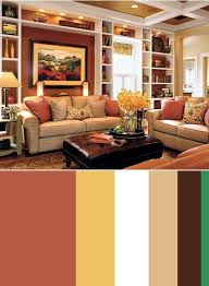 Burnt Orange And Brown Living Room Concept Simple Inspiration Ideas