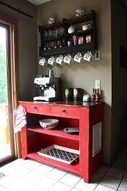 office coffee cabinets. coffee bar for the kitchen clear out cabinets of mugs and keep all coffeetea items in one space shelf from delhutsondesigns office i
