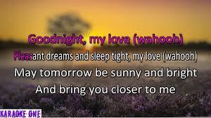jesse belvin goodnight my love karaoke full hd