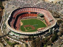 Image result for World Series between the San Francisco Giants and Oakland Athletics, held at Candlestick Park in San Francisco.