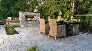 both a fire pit and fireplace are perfect focal points for socializing entertaining and relaxing and are a true asset to any columbus oh home