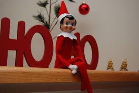 being an elf on a shelf