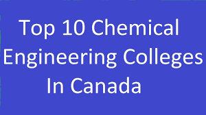Top 10 Chemical Engineering Colleges In Canada - YouTube