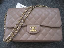 chanel bags classic. chanel taupe classic flap jumbo bag bags