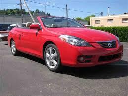 2007 Toyota SOLARA SLE CONVERTIBLE for Sale | ClassicCars.com | CC ...