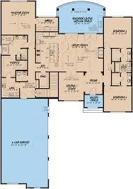 european house plan 82402 level one