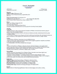 williams college essay awesome the perfect college resume template to get a job