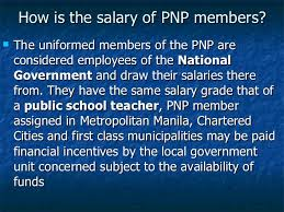 Philippine National Police Organizational Chart Polce Organization And Administration Demo Presentation