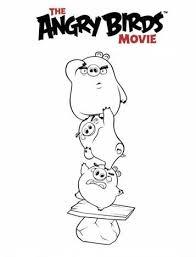 Kids N Fun 6 Kleurplaten Van Angry Birds Film