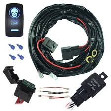 cheap light wiring diagram light wiring diagram deals on get quotations · mictuning universal 14 awg 14 ft 1 lead copper led light wiring harness on