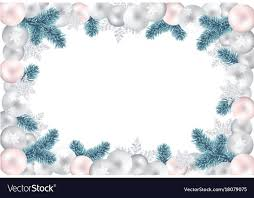 Blank Christmas Background Blank Christmas Background For Your Greetings Vector Image
