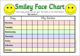 7 Day Reward Charts Sb3144 Sparklebox Reward Chart