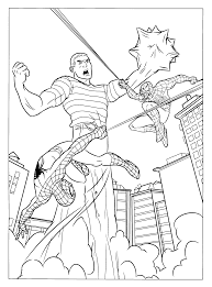 Free Spiderman Coloring Pages Printable for Kids | Free Coloring ...