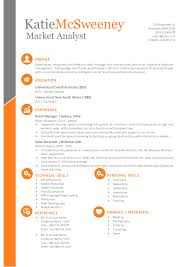 Simple Easy To Edit Resume Template For Ms Word By Inkpower