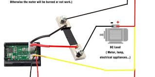 ammeter shunt wiring diagram wire diagram Ammeter Wiring Schematic Aircraft Ammeter Shunt Wiring Diagram #31