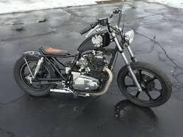 1981 kawasaki kz440 custom motorcycle brat cafe racer bobber chopper unique