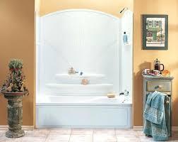 one piece acrylic bathtub shower one piece acrylic tub shower unit