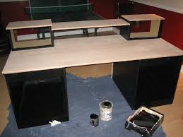 picture of computer desk plans diy