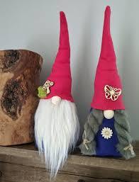 garden gnome spring summer gnome