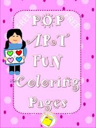 Small Picture Art Pop Art Coloring Page by One Bright Crayon Teachers Pay