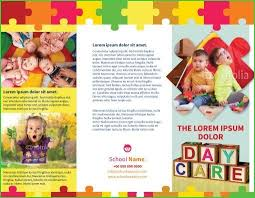Free Printable Daycare Flyers Daycare Brochure Template Free Daycare Brochure Template New