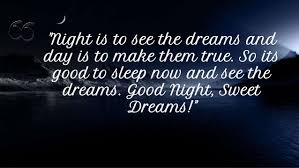 Quotes About Dreaming At Night Best of Beautiful Quotes About Night And Sweet Dreams