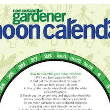 moon calendar nz gardenernz gardener free
