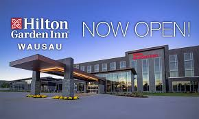 hilton garden inn debuts in wausau wisconsin with new 108 room hotel and premier conference center