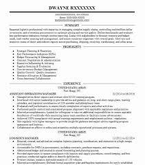 Operations Manager Resume Sample Assistant Operations Manager Resume Sample Livecareer