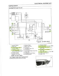 kawasaki ninja wiring diagram ex300 lighting system diagram and part numbers ninjette org