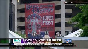Bayou Country Superfest Seating Chart 2016 Mercedes Benz Superdome To Host 8th Annual Bayou Country