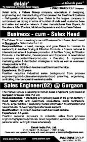 Job - Sales Engineer - Gurugram - Sales & Business Dev - Timesascent.com