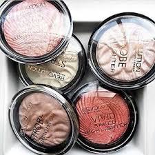 image is loading makeup revolution baked highlighter strobe powder rose