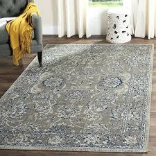 blue and gray area rug home co cotton dark gray blue area rug reviews light blue