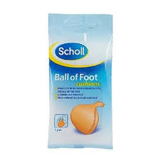 ball of foot pads. scholl footcare - ball of foot cushions: amazon.co.uk: health \u0026 personal care pads