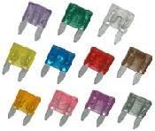 Automotive Fuse Types Chart Mini Atm Style 3 Amp Automotive Fuse Violet Color 5 Pack