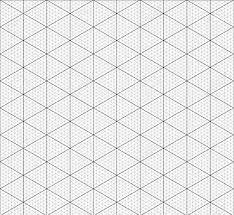 Isometric Graph Paper Background Measured Grid Graph Plotting