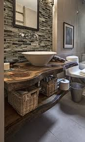 Best 25+ Rustic bathrooms ideas on Pinterest | Country bathrooms, Rustic  powder room and Half bathroom decor