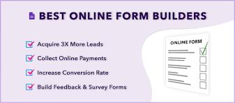 Builder Online 10 Best Online Form Builders 2019 Formget