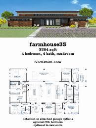 simple 4 bedroom house plans pdf awesome farmhouse33 modern farmhouse plan