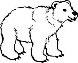 Small Picture Polar Bear Coloring Pages Coloring Pages To Print