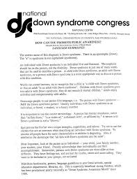 best down syndrome images autism developmental  national down syndrome congress how can you promote public awareness language guidelines