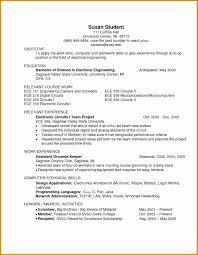 Sample Skills For Resume Unique Cover Letter Resumes Sample Resume