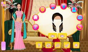 indian bride dress up
