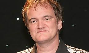 Quentin Tarantino has shelved plans to direct western The Hateful Eight, his followup to Django Unchained, after the film's script was leaked. - Doing-a-number---Quentin--009