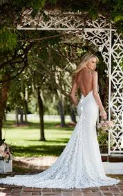 Designer Sheath Wedding Dresses Graphic Lace Wedding Dress With Straps Wedding Dresses