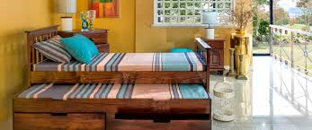 bronte with pull out drawers bedframe