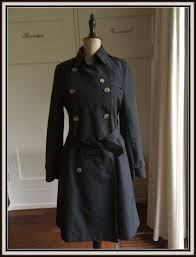 burberry original trench coat coat black like new s or